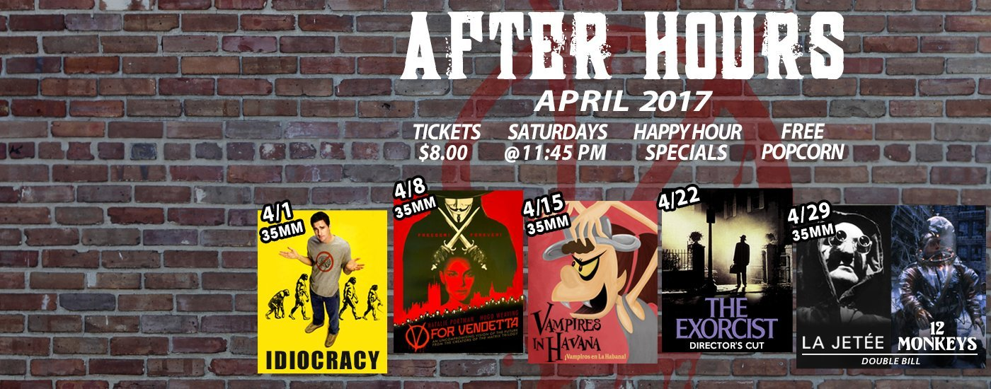 after hours april